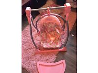 Baby anabel doll swing