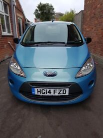 2014 Ford KA 1.2 Studio Connect. Extremely low mileage.