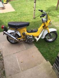 Honda chaly swap rs125