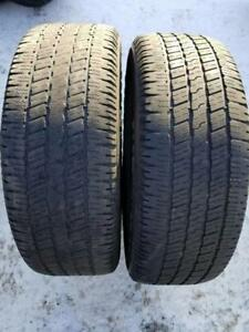 2 Goodyear Wrangler SR-A- 275/60/20- 50%- $50 for BOTH