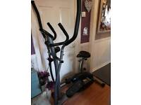 Reduced. As new. 2 in 1 magnetic elliptical trainer. As new.