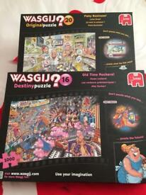 JIGSAW PUZZLES BY WASGIJ