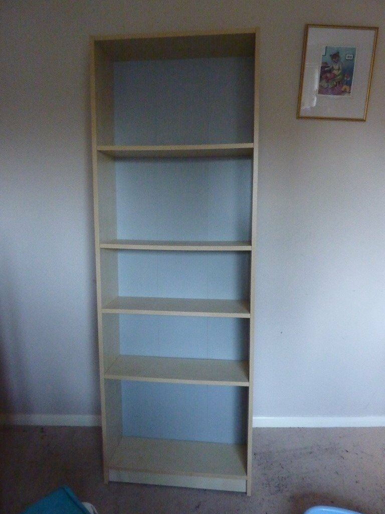 Tall Book Shelf Just Over 6 Foot And 2 Wide