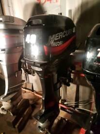 Mercury 40 longshaft on tiller