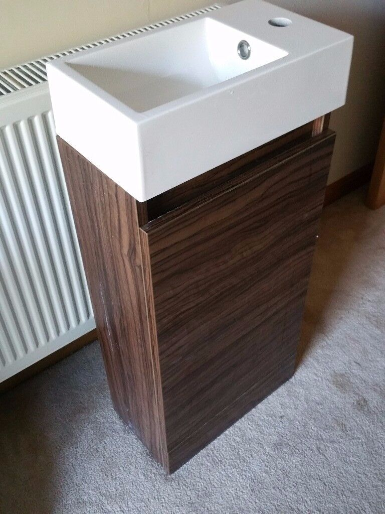 Bathstore Cloakroom Sink with matching cabinet