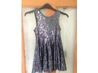 Autograph M&S sequin dress age 6-7yrs