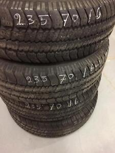 4 Goodyear all season tires:235/70R16