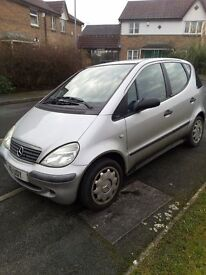 Cheap A Class 2002/88000Miles MOT till September/Bargain/Personalized Number Plate