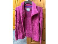 LOVELY WARM CERISE COLOURED CARDIGAN - FANTASTIC CONDITION