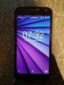 Motorola Moto E3 8GB Unlocked Black Mobile Phone Smartphone