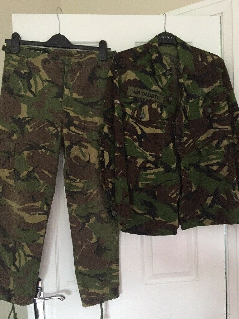 Boys Army Jacket and Trousers