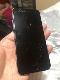 iPhone 6s 16gb unlocked smashed