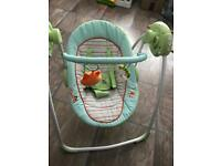 Baby swing fab condition