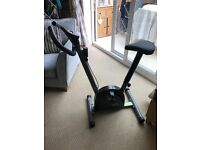 Opti manual exercise bike with distance, speed & calorie computer, used three times only