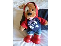 Build a Bear dressed in Hoodie and wellingtons VGC - Shipley