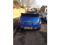 private no FY 07 uwl n convertible chrysler pt cruiser cabrio cabriolet automatic blue bargain