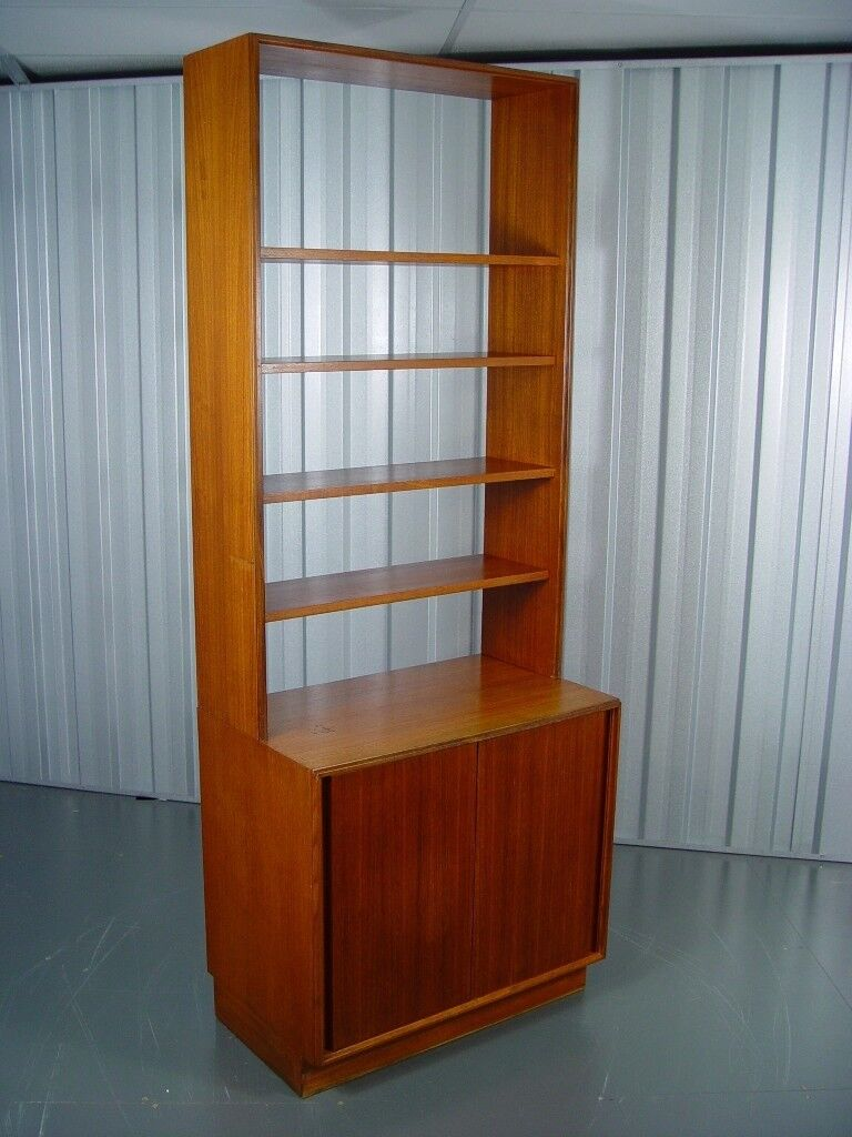 Vintage G Plan Bookcase Room Divider Retro Mid Century Furniture