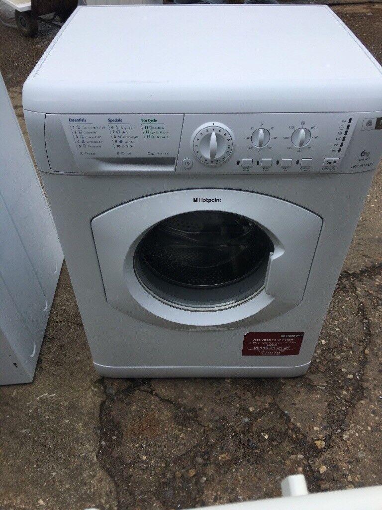 Hotpoint WML520 6kg 1200 Spin Washing Machine in White #4149