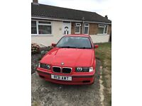 E36 BMW - 1 year mot- great condition