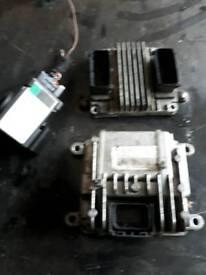 Vauxhall 1.7dti ECU genuine kit key +IMOB