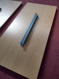 Office Furniture Rectangle Study Computer Desk School Table Bolt on Legs 150cm x 73 cm H 72cm