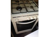 White gas cooker 50cm...Very Cheap