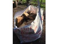 Seasoned wood £45 per builders bag