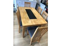Dining Table & 6 chairs for sale for a bargain price!