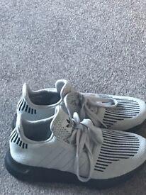 Adidas grey trainers size 4 worn twice