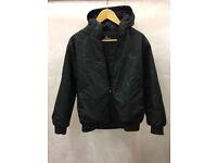 Black Airwalk Boys Coat 13yrs - STA21