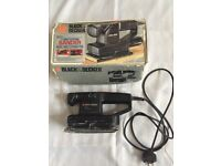 Black & Decker electric sander