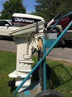 1990 Johnson 9.9 Long Shaft, Electric Start