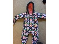Girls all in one suit- age 6-9 months