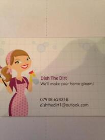 Dish The Dirt! Domestic cleaning service