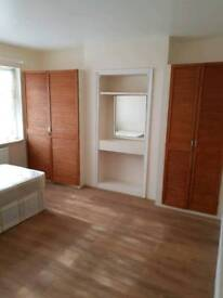 DOUBLE ROOM TO RENT IN WEMBLEY MUSLIMS HOUSEHOLD 2 MINS WALK TO TRAIN STATION. NEWLY REFURBISHED RM