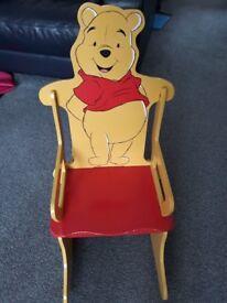 Winnie The Pooh Child Rocking Chair