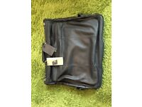 Luxury Leather Suit Carrier