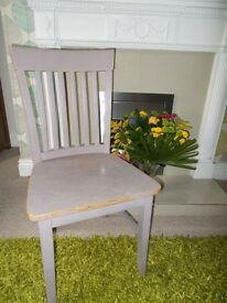 Shabby Chic chair project for kitchen bedroom dining room hall - £10