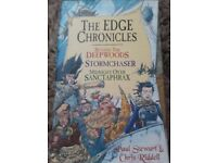 The Edge Chronicles by Paul Stewart + Chris Riddell - 3 book collection boxset - £8