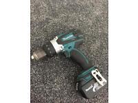 Makita 18v combi drill and 3.0ah battery