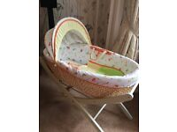 Moses Basket & Stand - Mothercare