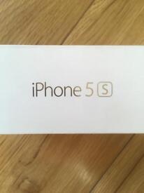 iPhone 5 s box
