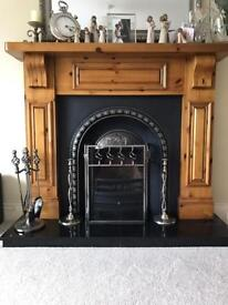 Complete Stylish 5 ft Fireplace