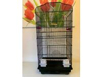 BARGAIN. TALL SHAPED BIRD CAGE IN GOOD CONDITION. LOCAL DELIVERY POSSIBLE