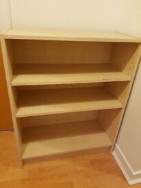 Beechwood bookcase