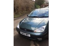 Ford Focus Zetec / 1 Year MOT with 6 months road tax