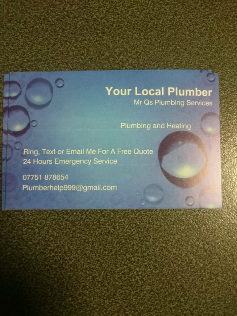 Your local plumber