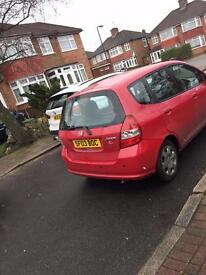 Honda Jazz red spares and parts