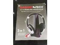 Gadget Tech Wireless Headphones - Brand new