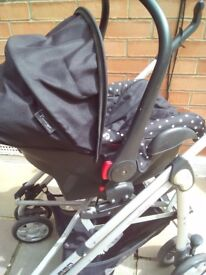 Car seat pushchair